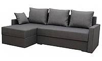 """Кутовий диван """"Мілос"""" кут взаємозамінний. Люкс 06. Габарити: 2,30 х 1,45 Спальне місце: 2,00 х 1,40, фото 1"""