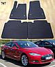 Килимки ЄВА в салон Tesla Model S '12-