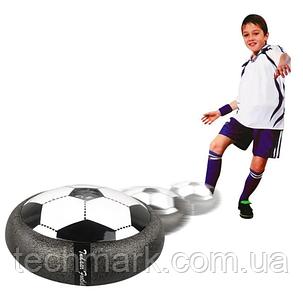 Аэромяч Футбольный мяч с подсветкой и музыкой Hoverball Black