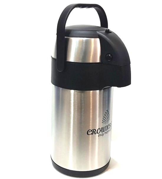 Помповий термос Crownberg CB- 5л