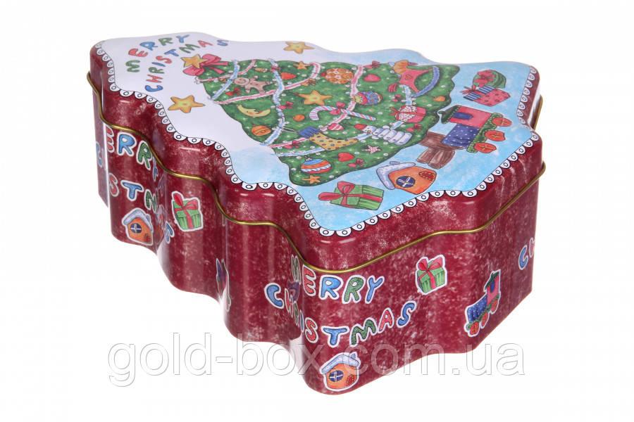 Бляшані коробочки «Merry Christmas » 3 в 1