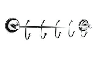 Держатель полотенец  5 крючков металл, Турция К352