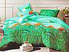 Полуторный комплект постельного белья 150*220 сатин_хлопок 100% (15600)