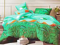 Полуторный комплект постельного белья 150*220 сатин_хлопок 100% (15600), фото 1