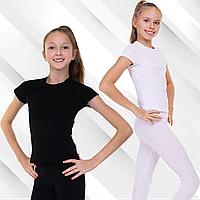 Футболка тренировочная для гимнастики, хореографии и танцев