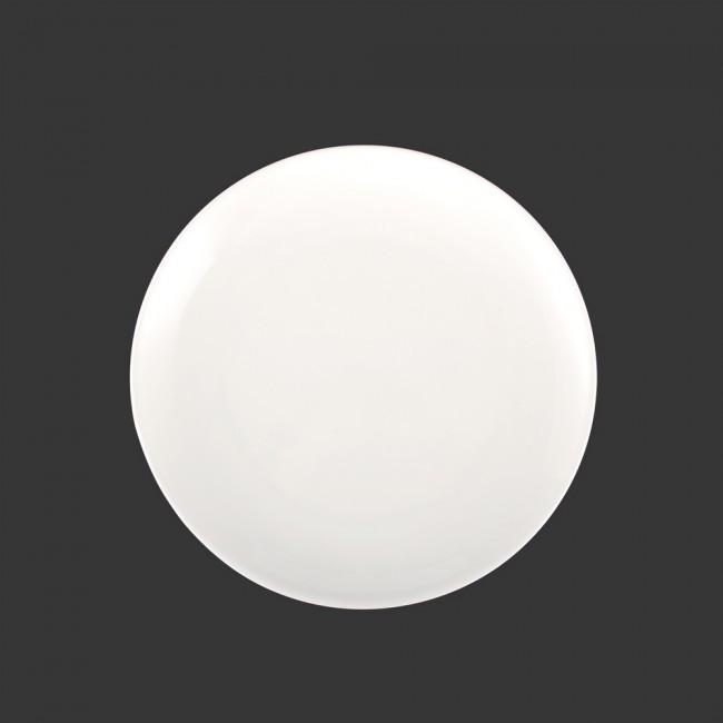 """Тарелка круглая плоская 9"""" HLS Extra white 230 мм (W0123)"""