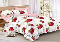 Полуторный комплект постельного белья 150*220 сатин_хлопок 100% (15602), фото 1