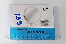 """Зеркало 5"""" двухстороннее косметическое на подставке"""