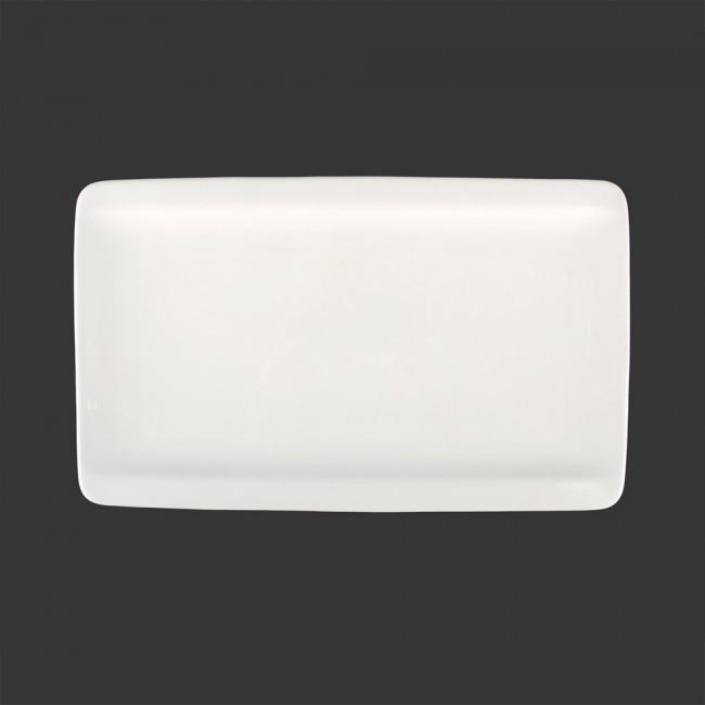 Блюдо прямоугольное фарфоровое 12″ HLS Extra white 185х305 мм. (W0161)