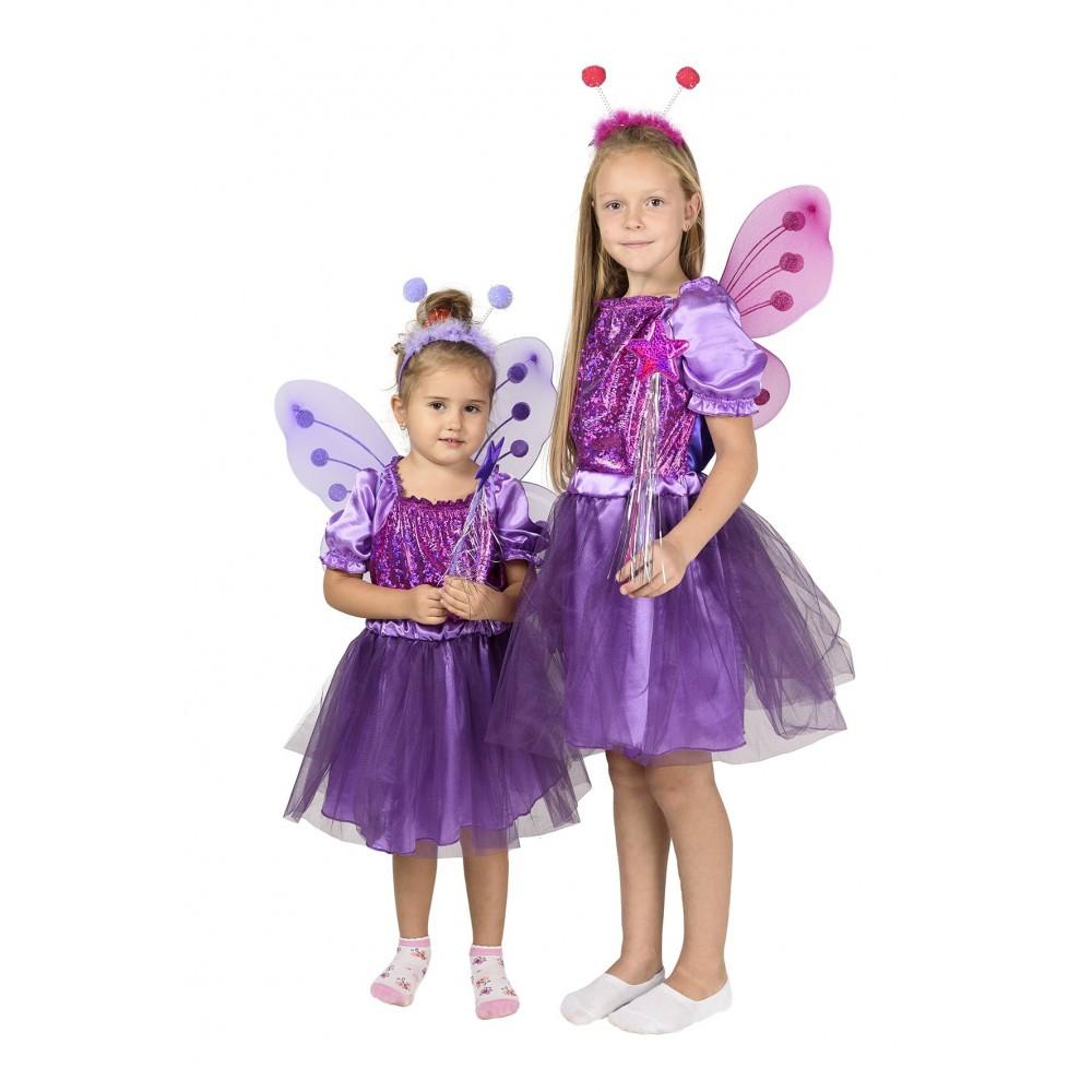 Детский карнавальный костюм Бабочки для девочки.