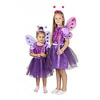 Детский карнавальный костюм Бабочки для девочки., фото 1