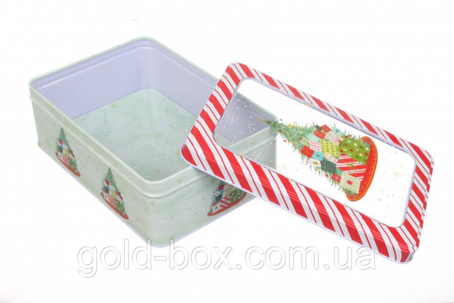 Бляшана Коробка новорічна Merry Christmas