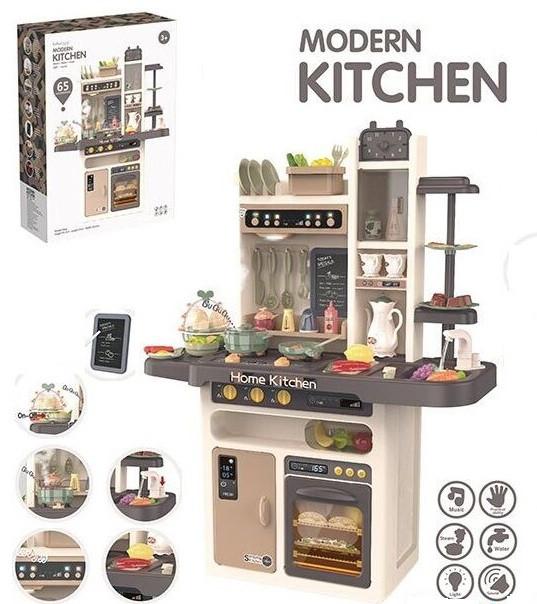 Детская игровая кухня для ребенка Home Kitchen 889-211 со звуковыми и световыми эффектами