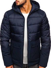 Мужская еврозимняя куртка с капюшоном