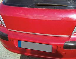 Peugeot 308 2007-2013 рр. Кромка багажника (нерж.)