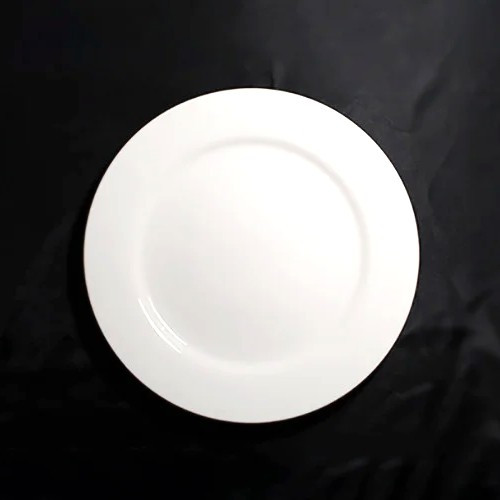 "Тарелка с бортиком круглая фарфоровая 11"" HLS Extra white 280 мм (W0105)"