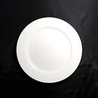 "Тарелка с бортиком круглая фарфоровая 11"" HLS Extra white 280 мм (W0105), фото 1"