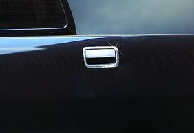 Накладка на ручку багажника (нерж) Carmos - Турецкая сталь Volkswagen Amarok
