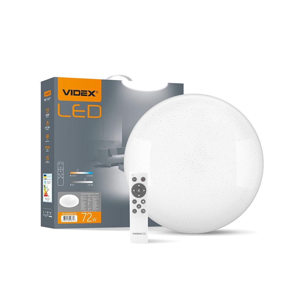 LED светильник функциональный круглый VIDEX STAR 72W 2800-6200K VL-CLS1522-72 25539