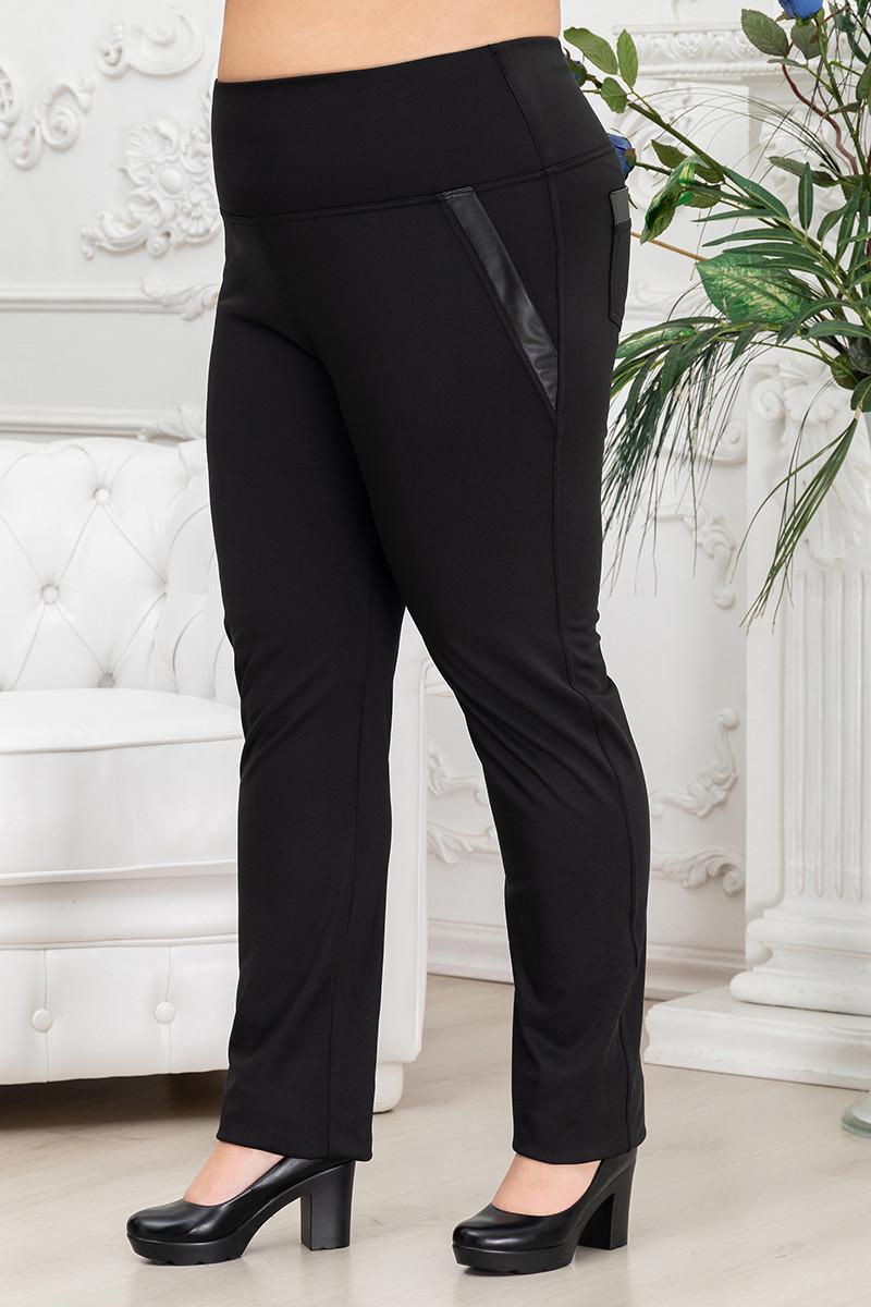 Брюки женские с боковыми карманами на ФЛИСЕ