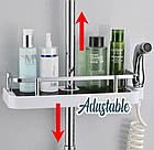 Полка для ванной комнаты Shower Rack   Полочка для душа   Органайзер для ванной комнаты, фото 6