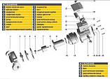 Насос циркуляционный Optima OP25-40 130мм + гайки, + кабель с вилкой!, фото 8