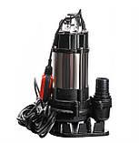 Насос фекальный с режущим механизмом VOLKS V 750 DF 0,75 кВт, фото 4