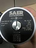 Насос циркуляционный SAER W55-25 130мм + гайки, фото 4