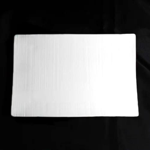 """Тарілка прямокутна порцелянова 8"""" HLS Extra white 145х210 мм (W0130)"""