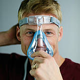 Повна маска Respironics Amara Gel Full Face CPAP Mask with Exhalation Port Size M, фото 2