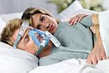 Повна маска Respironics Amara Gel Full Face CPAP Mask with Exhalation Port Size M, фото 4