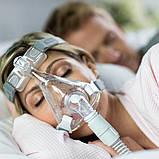 Повна маска Respironics Amara Gel Full Face CPAP Mask with Exhalation Port Size M, фото 7