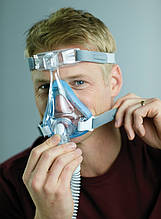 Полнолицевая маска Respironics Amara Gel Full Face CPAP Mask with Exhalation Port Size L