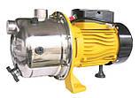 Насос центробежный Optima JET100S 1,1кВт нержавейка, фото 5