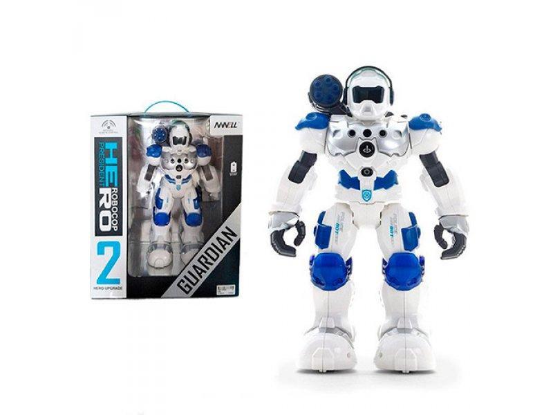Детский робот полицейский на радиоуправлении 8088 (31 см)