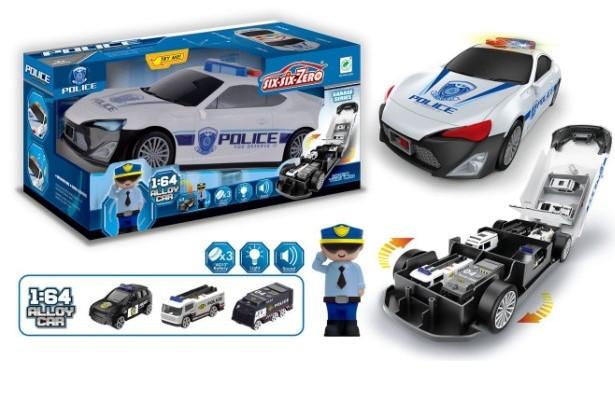 Машинка полиция 660-A206