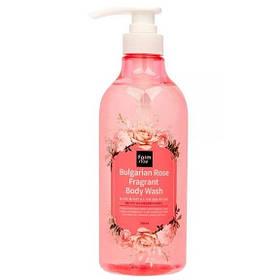 Гель для душа с ароматом розы Farmstay Bulgarian Rose Fragrant Body Wash 750 мл