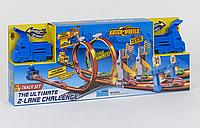 """Детский игровой трек для машинок """"Параллельные гонки"""" S 8909 с двумя машинками"""