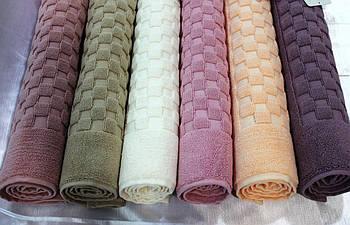 Полотенце-коврик для ног Maison Dor Checkerboard 50x80 Pink