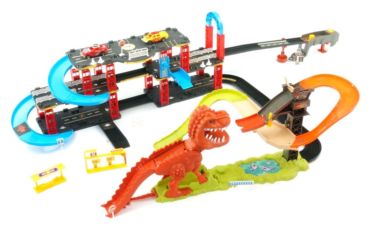 Трек Динозавр 8899-93 (длина трека 120 см, ширина 75 см, высота -25 см)