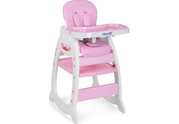 Стульчик для кормления Bambi M 3612-8 розовый