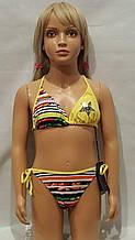 6Купальник для подростков RIVAGE LINE 1053 Звезда желтый (в наличии  6/8/10/ размеры)
