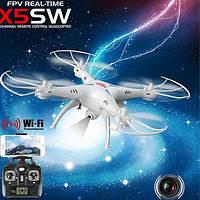Радіокерований квадрокоптер з відеокамерою X5SW, 2 кольори.