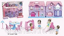 Ляльковий Будинок  з ляльками меблями та аксес KB99-40