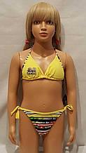 6Купальник для подростков RIVAGE LINE 10531 Конго желтый (в наличии  6 лет/8 лет/10 лет/ размеры)