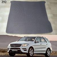 Килимок багажника Mercedes ML-Class / GLE W166 '11-18. Автоковрики EVA