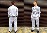 "Тёплый мужской спортивный костюм на байке 433 ""Армани"""