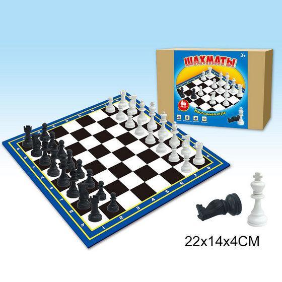 Шахматы1910Т картонное поле 20*20см.
