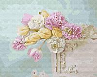 Картина рисование по номерам Brushme Цветочная нежность GX29762 40х50см       40x50см  BK-GX29762 40x50см