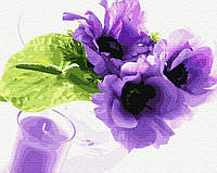 Картина рисование по номерам Brushme Фиалковый аромат GX27263 40х50см       40x50см  BK-GX27263 40x50см набор